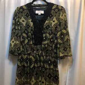 Badgley Mischka blouse - Small, American glamour